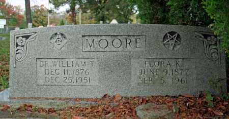 MOORE, WILLIAM T. - Searcy County, Arkansas | WILLIAM T. MOORE - Arkansas Gravestone Photos