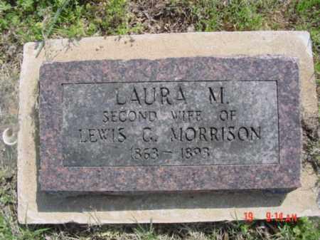MORRISON, LAURA M. - Searcy County, Arkansas   LAURA M. MORRISON - Arkansas Gravestone Photos