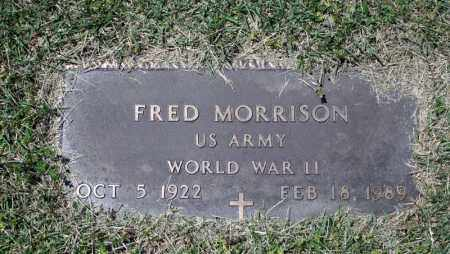 MORRISON (VETERAN WWII), FRED - Searcy County, Arkansas   FRED MORRISON (VETERAN WWII) - Arkansas Gravestone Photos