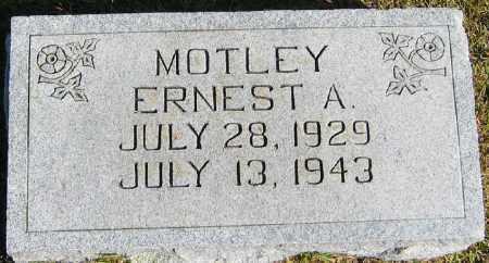 MOTLEY, ERNEST A. - Searcy County, Arkansas | ERNEST A. MOTLEY - Arkansas Gravestone Photos