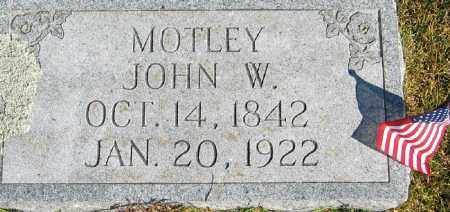 MOTLEY, JOHN WILLIAM - Searcy County, Arkansas | JOHN WILLIAM MOTLEY - Arkansas Gravestone Photos