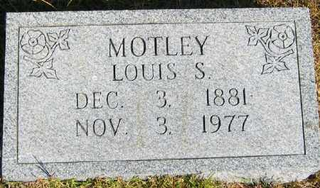 MOTLEY, LOUIS STEVENSON - Searcy County, Arkansas | LOUIS STEVENSON MOTLEY - Arkansas Gravestone Photos