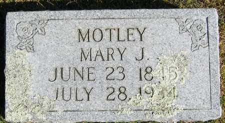 MOTLEY, MARY JANE - Searcy County, Arkansas | MARY JANE MOTLEY - Arkansas Gravestone Photos