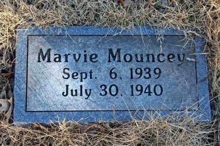 MOUNCEY, MARVIE - Searcy County, Arkansas   MARVIE MOUNCEY - Arkansas Gravestone Photos