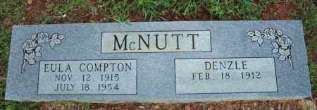 COMPTON MCNUTT, EULA - Searcy County, Arkansas | EULA COMPTON MCNUTT - Arkansas Gravestone Photos