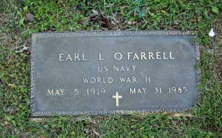 O'FARRELL (VETERAN WWII), EARL L - Searcy County, Arkansas   EARL L O'FARRELL (VETERAN WWII) - Arkansas Gravestone Photos