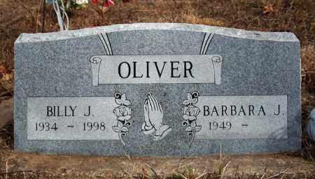 OLIVER, BILLY J. - Searcy County, Arkansas | BILLY J. OLIVER - Arkansas Gravestone Photos