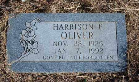OLIVER, HARRISON F. - Searcy County, Arkansas   HARRISON F. OLIVER - Arkansas Gravestone Photos