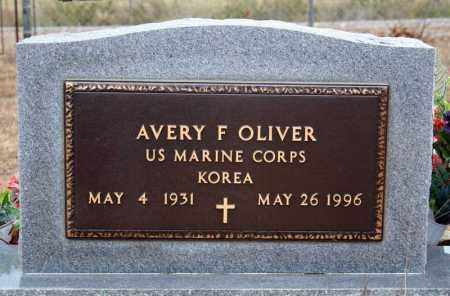 OLIVER (VETERAN KOR), AVERY F - Searcy County, Arkansas   AVERY F OLIVER (VETERAN KOR) - Arkansas Gravestone Photos