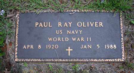 OLIVER (VETERAN WWII), PAUL RAY - Searcy County, Arkansas | PAUL RAY OLIVER (VETERAN WWII) - Arkansas Gravestone Photos