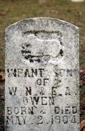 OWEN, INFANT SON - Searcy County, Arkansas | INFANT SON OWEN - Arkansas Gravestone Photos