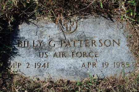 PATTERSON (VETERAN), BILLY G - Searcy County, Arkansas | BILLY G PATTERSON (VETERAN) - Arkansas Gravestone Photos