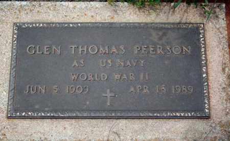PEERSON (VETERAN WWII), GLEN THOMAS - Searcy County, Arkansas | GLEN THOMAS PEERSON (VETERAN WWII) - Arkansas Gravestone Photos