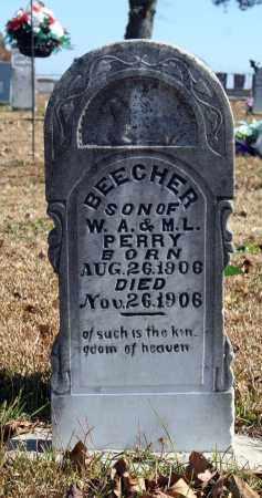 PERRY, BEECHER - Searcy County, Arkansas   BEECHER PERRY - Arkansas Gravestone Photos