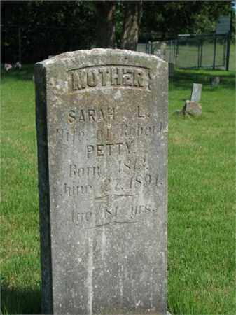 PETTY, SARAH L. - Searcy County, Arkansas | SARAH L. PETTY - Arkansas Gravestone Photos