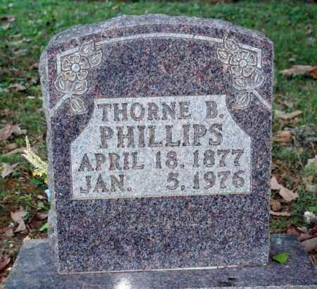 PHILLIPS, THORNE B. - Searcy County, Arkansas | THORNE B. PHILLIPS - Arkansas Gravestone Photos
