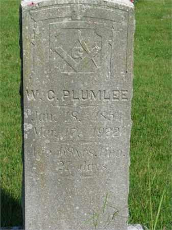 PLUMLEE, W.C. - Searcy County, Arkansas | W.C. PLUMLEE - Arkansas Gravestone Photos