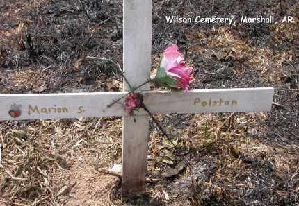 POLSTON, MARION S. - Searcy County, Arkansas | MARION S. POLSTON - Arkansas Gravestone Photos