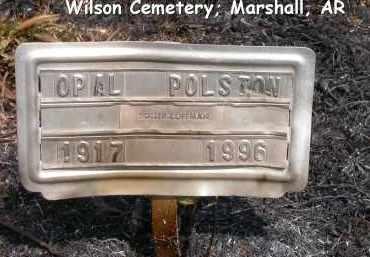 POLSTON, OPAL - Searcy County, Arkansas | OPAL POLSTON - Arkansas Gravestone Photos