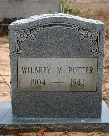 RAY POTTER, WILBREY MAY - Searcy County, Arkansas | WILBREY MAY RAY POTTER - Arkansas Gravestone Photos