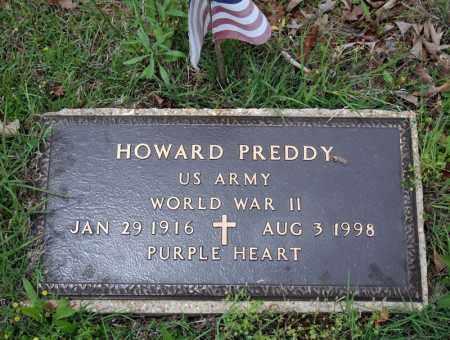 PREDDY (VETERAN WWII), HOWARD - Searcy County, Arkansas | HOWARD PREDDY (VETERAN WWII) - Arkansas Gravestone Photos