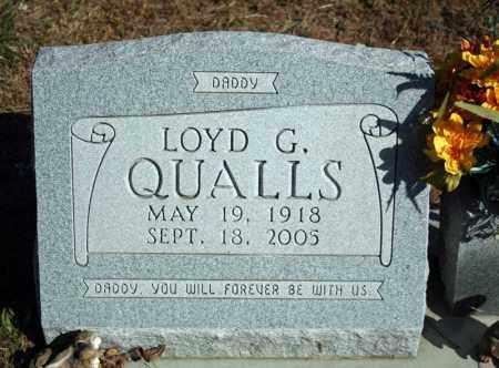 QUALLS, LOYD G. - Searcy County, Arkansas | LOYD G. QUALLS - Arkansas Gravestone Photos