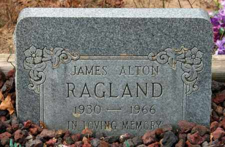 RAGLAND, JAMES ALTON - Searcy County, Arkansas | JAMES ALTON RAGLAND - Arkansas Gravestone Photos