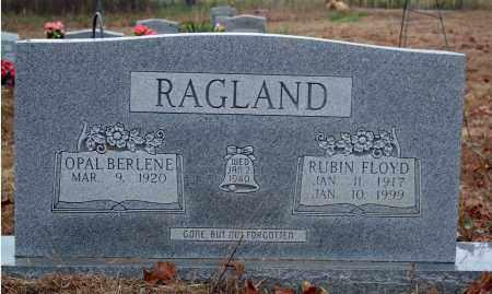 RAGLAND, RUBIN FLOYD - Searcy County, Arkansas | RUBIN FLOYD RAGLAND - Arkansas Gravestone Photos