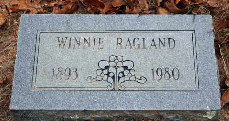 RAGLAND, WINNIE - Searcy County, Arkansas | WINNIE RAGLAND - Arkansas Gravestone Photos