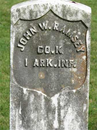 RAMSEY (VETERAN UNION), JOHN W - Searcy County, Arkansas | JOHN W RAMSEY (VETERAN UNION) - Arkansas Gravestone Photos