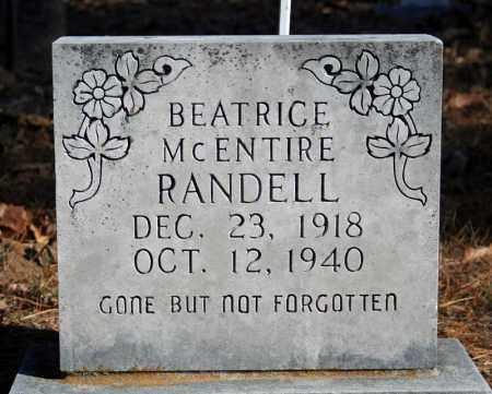 RANDELL, BEATRICE - Searcy County, Arkansas | BEATRICE RANDELL - Arkansas Gravestone Photos