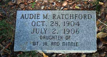RATCHFORD, AUDIE M. 2 - Searcy County, Arkansas | AUDIE M. 2 RATCHFORD - Arkansas Gravestone Photos