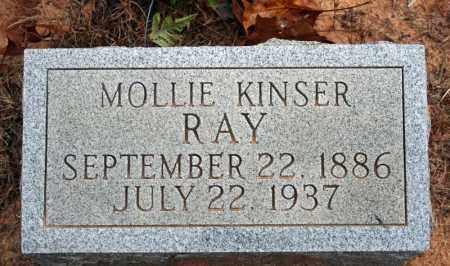 KINSER RAY, MOLLIE - Searcy County, Arkansas   MOLLIE KINSER RAY - Arkansas Gravestone Photos