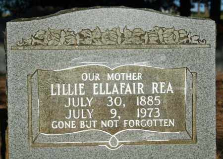 REA, LILLIE ELLAFAIR - Searcy County, Arkansas | LILLIE ELLAFAIR REA - Arkansas Gravestone Photos