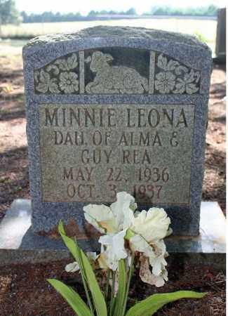REA, MINNIE LEONA - Searcy County, Arkansas | MINNIE LEONA REA - Arkansas Gravestone Photos