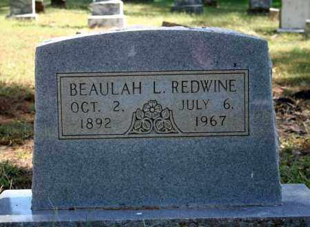 LEONARD REDWINE, BEAULAH L. - Searcy County, Arkansas | BEAULAH L. LEONARD REDWINE - Arkansas Gravestone Photos