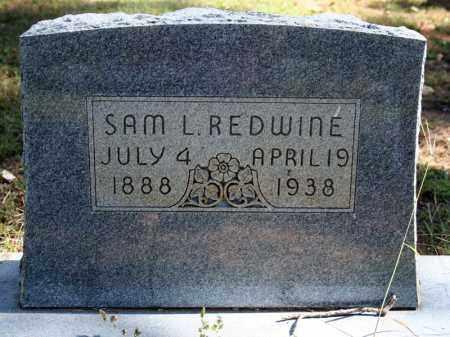 REDWINE, SAM L. - Searcy County, Arkansas | SAM L. REDWINE - Arkansas Gravestone Photos