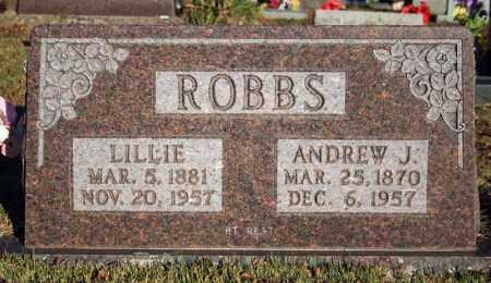 ROBBS, ANDREW J. - Searcy County, Arkansas | ANDREW J. ROBBS - Arkansas Gravestone Photos