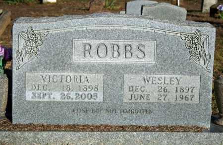 ROBBS, WESLEY - Searcy County, Arkansas | WESLEY ROBBS - Arkansas Gravestone Photos