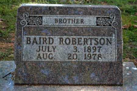 ROBERTSON, BAIRD - Searcy County, Arkansas | BAIRD ROBERTSON - Arkansas Gravestone Photos