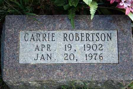 WHILLOCK ROBERTSON, CARRIE - Searcy County, Arkansas | CARRIE WHILLOCK ROBERTSON - Arkansas Gravestone Photos
