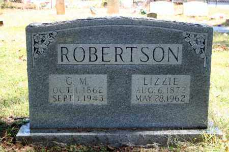 ROBERTSON, LIZZIE - Searcy County, Arkansas | LIZZIE ROBERTSON - Arkansas Gravestone Photos
