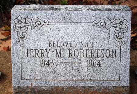 ROBERTSON, JERRY M. - Searcy County, Arkansas | JERRY M. ROBERTSON - Arkansas Gravestone Photos