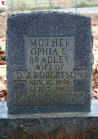 ROBERTSON, OPHIA E. - Searcy County, Arkansas | OPHIA E. ROBERTSON - Arkansas Gravestone Photos