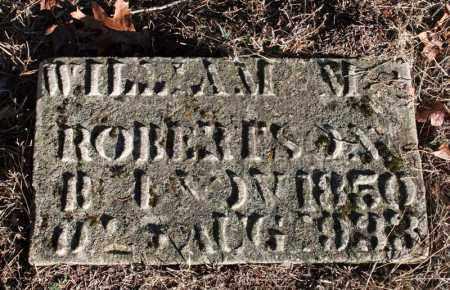 ROBERTSON, WILLIAM M. - Searcy County, Arkansas | WILLIAM M. ROBERTSON - Arkansas Gravestone Photos