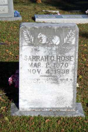 LAY ROSE, SARRAH  C. - Searcy County, Arkansas | SARRAH  C. LAY ROSE - Arkansas Gravestone Photos