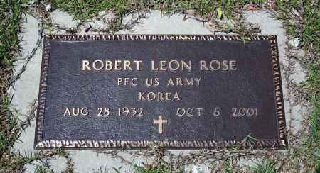 ROSE (VETERAN KOR), ROBERT LEON - Searcy County, Arkansas | ROBERT LEON ROSE (VETERAN KOR) - Arkansas Gravestone Photos