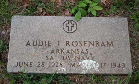 ROSENBAUM (VETERAN), AUDIE I - Searcy County, Arkansas | AUDIE I ROSENBAUM (VETERAN) - Arkansas Gravestone Photos