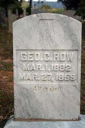 ROW, GEO. C. - Searcy County, Arkansas | GEO. C. ROW - Arkansas Gravestone Photos