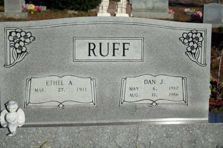 RUFF, DAN JAMES - Searcy County, Arkansas | DAN JAMES RUFF - Arkansas Gravestone Photos